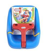Little Tikes Swing Toddler Baby 2 in 1 Snug N Secure Blue