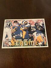 Jerome Bettis 1994 Pacific Triple Folder Card Los Angeles Rams #18