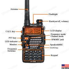 BAOFENG UV-5RE Dual Band Two-way Walkie-Talkie UHF/VHF 136-174/400-520MHz Radio