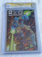 X-O Manowar # 0 CGC 9.8-  SS Joe Quesada - PRINTING ERROR!