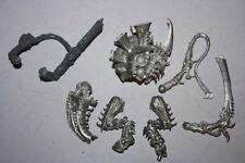 Warhammer 40k Tyranid OOP Bare Metal Hive Tyrant HQ Bits Classic Hive Army Lot