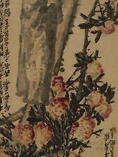 Chino pinturas pergaminos ventiladores parte 1 catálogo de subasta