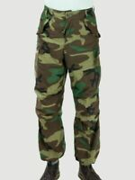 Genuine US Army Military Woodland Camouflage Combat Trousers M81 M65 DPM BDU ACU