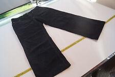 Harlem Walker JOKER Herren Cord Jeans Hose gekürzt 33/28 W33 L28 schwarz TOP #33