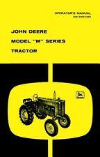 John Deere Model M Series Tractor Operators Manual