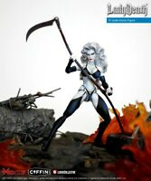 "Executive Replicas 1/12th Lady Death Coffin Comics6""Female Solider Figure Toy"
