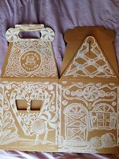 Brand New Build A Bear Boxes! Winter Gingerbread House Cub Condo Boxes!