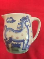 Hadley Vintage Pottery Pitcher/Kitchen Utensil Holder  (Spotted Horse)