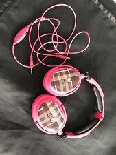 Able Planet XNC230p Extreme Foldable Noise Canceling Headphones (PinkPlaid)