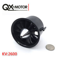 QX 70mm Ducted 12 Blades EDF Fan 4S Motor 2600KV QF2827 Brushless Motor
