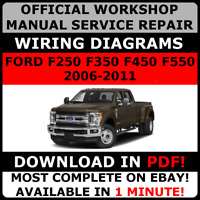 # OFFICIAL WORKSHOP Repair MANUAL for FORD F250 F350 F450 F550 2006-2011 #
