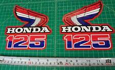 85' 1985 CR125R dirtbike 2pc Vintage shroud graphics decals stickers HRC, MX, CR