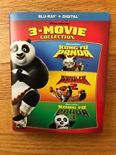 Kung Fu Panda 3-Movie Collection, Blu-ray/Digital, brand new and factory sealed