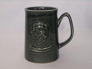 Vintage Holkham Pottery Beer Mug Tankard 1969 Prince Of Wales