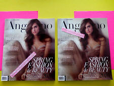 Angelino Magazine 2 Issues 2016 New Fashion Beauty Gucci Mr. Chow Leo Decaprio