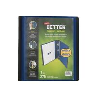 26312 Staples Heavy-Duty 5-Inch D 3-Ring Non-view Binder Black 976022