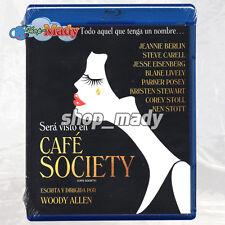 Café Society - Una Pelicula de Woody Allen - Blu-ray Región A