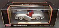 Maisto 1:18 Scale Porsche No. 1 Typ 356 Roadster 1948 (Silver) Special Edition