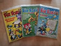 Fix und Foxi 9 Hefte Jhg. 25 Heft Nr.: 4-6,8-11,13,23 Rolf Kauka Z2 R11