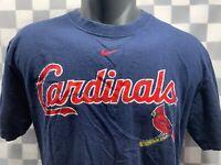 NIKE St Louis CARDINALS Baseball MLB T-Shirt Size S