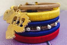 Trade, Hand Made, Venezuelan Artisans Venezuelan Peace Bracelets - Fair