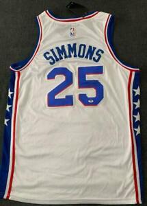 Ben Simmons Hand Signed PHILADELPHIA 76ers Basketball Jersey with COA – *100% au