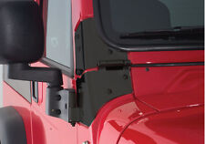 Rampage Windshield Hinges 76-95 Jeep CJ-7 & Wrangler YJ 7603 Black