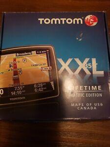 "TomTom XXL 535T Car GPS 5"" LCD USA-Canada MAPS Lifetime Traffic 535-T M61"
