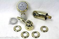 Hansgrohe Proaktiv Series Shower & Handle Trim Kit 06973930 Polished Brass NEW