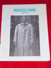 SINATRA - PERFECTLY FRANK #161 June 1980
