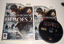 JEU NINTENDO WII - MEDAL OF HONOR HEROES 2 COMPLET
