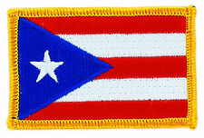 FLAG PATCH PATCHES Puerto rico rican   IRON ON COUNTRY EMBROIDERED WORLD FLAG