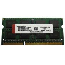 Yongxinsheng Laptop memory DDR3 8G 1600MHz SODIMM PC3-12800 (DDR3-1600) 8GB