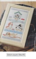 PUPPY LOVE -    CROSS  STITCH   PATTERN  ONLY   R49M1
