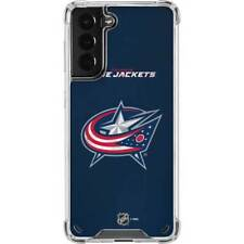 NHL Columbus Blue Jackets Galaxy S21 5G Clear Case