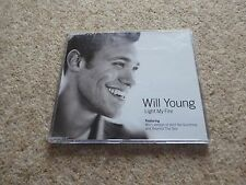 Will Young - Light My Fire - 3 Track CD Single - Pop Idol