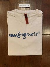 Ambiguous Skateboarding Vintage Logo T Shirt Size L Gray Vtg Skate Wear Supreme
