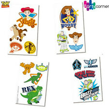 TOY STORY PARTY SUPPLIES TATTOOS 4 STRIPS OF 4 TATTOOS FAVOURS