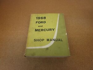 Repair Manuals Literature For 1968 Ford Galaxie 500 For Sale Ebay