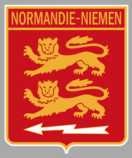 STICKER BLASON 2/30 NORMANDIE NIEMEN SPA ARMEE DE L'AIR AUTOCOLLANT 11cm AV139
