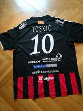 ALEM TOSKIC Match Worn Jersey Handball team Vardar Macedonia