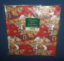 American Greetings Finishing Touch Gift Wrap Christmas Wrapping Paper ~ 50 Sq Ft