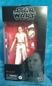 Hasbro star Wars Black Series 6in Rey And D-O No92
