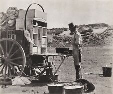 1908/52 Vintage WESTERN COVERED WAGON Cowboy Cook 11x14 Photo Art ERWIN E. SMITH