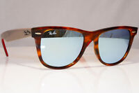RAY-BAN Mens Womens Mirror Sunglasses Brown Wayfarer RB 2140 1178/30 22089