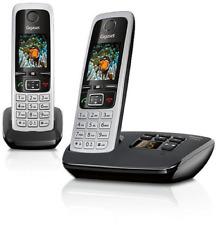 Telefon Gigaset Duo Dect Schnurlos Siemens Festnetztelefon Mit Anrufbeantworter