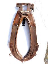 Outil ancien XIXème superbe collier de débardage modele pour  gros cheval