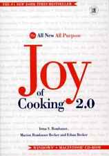 The Joy of Cooking 2.0 Pc Mac Cd learn to cook meal, culinary recipes, menu plan