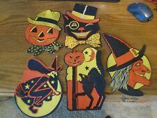 New ListingVintage Luhrs halloween die cut decorations