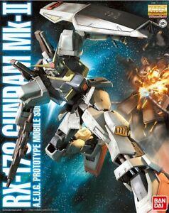BANDAI MG 1/100 Gundam Plastic Model Kit RX-178 Mk-II Ver 2.0 AEUG AU STOCK